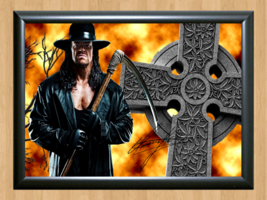 The Undertaker WWE Signed Autographed A4 Print Poster Photo wwf ufc belt diva 3 - $9.95