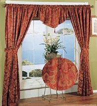 tkcreativelinenswholesale Holiday Window in Bag Curtain 5 PCS Jacquard C... - $58.36