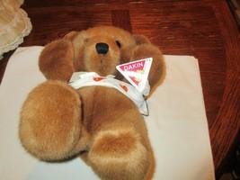 Stuffed Animal, By Dakin, Bear in a Sling , Pre Owned , Vintage - $18.81