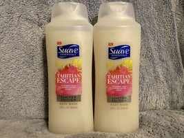Suave Tahitian Escape Body Wash, 28 Fl Oz, Limited Edition, Lot Of 2 - $44.99