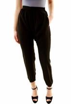 One Teaspoon Womens Black Ilse Crossover Front Pants Size M - $52.28