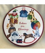 Babies Are A Blessing Round Wooden Plaque - $9.80