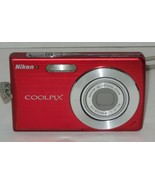 Nikon COOLPIX S200 7.1MP Digital Camera - Red - $46.75