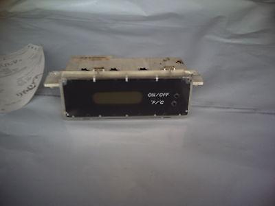 2001 DODGE STRATUS CLOCK