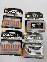 (4) Duracell 13 Hearing Aid Batteries Easy Tab 24&16 Pack 64 Total 2019 - $14.99