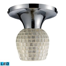 Elk Lighting 10152/1PC-SLV-LED Celina 1-Light Polished Chrome and Silver-LED Off - $88.14