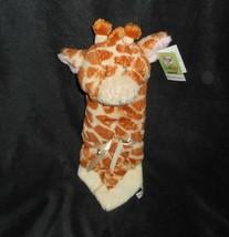 Baby Ganz Jamie Giraffe Mini Schmusedecke Sicherheit Decke Plüschtier Sp... - $30.73