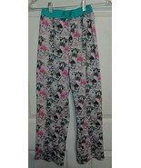 Girls Sz L Cat Kitten Stars Imagine Cat's Meow Pajama PJs Gray Blue Pink Pants  - $9.00