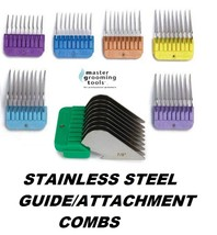 Stainless Steel Guide Comb Blade Attachment Fit Oster A5 A6,Andis Agc Ag,Wahl Km - $5.99+