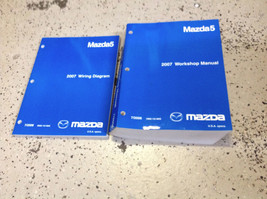 2007 Mazda 5 Mazda5 Service Repair Shop Workshop Manual Set w EWD OEM - $69.25