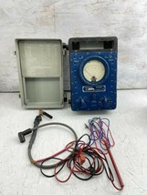 Vintage PHAOSTRON MULTIMETER ME-9G/U With Accessories Great Collection P... - $59.39