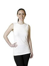 Rosette Woman's Cotton Sleeveless Undershirt, Smooth and Seamless Tank T... - $10.25