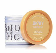 Bath & Body Works Snowy Morning 10.0 Ounces Super Soft Body Butter - $19.55