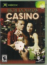 High Rollers Casino Microsoft Xbox 2004 Case Game and Manual - $2.99