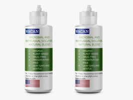 WACAN Anti-Microbial Anti-Fungal Anti-Viral Solution Organic (2-Pack 4oz... - $12.99
