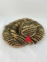 "Webkinz Tiger Snake Plush ONLY HM154 Ganz Orange Black Stripe NO CODE 36""  - $5.93"