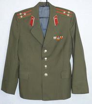 Colonel Uniform Blazer Russian Soviet Army Military Daily Military Jacke... - $19.80