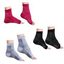 Plantar Fasciitis Foot Compression Sleeve (Pack Of 3 Pairs) - Ankle Support - $23.82