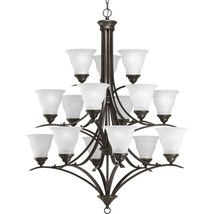 Progress Lighting Trinity Collection 15 Light Antique Bronze Chandelier ... - $337.66