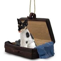 Rat Terrier Traveling Companion Dog Ornament - $13.99
