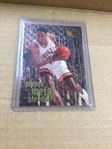 1996-97 Fleer Metal Scottie Pippen Metal Shredders Insert #145 Chicago Bulls New - $2.96