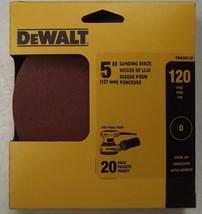 """Dewalt DWAS50120 5"""" x 120 Grit No Hole Sanding Discs 20pk - $2.97"""