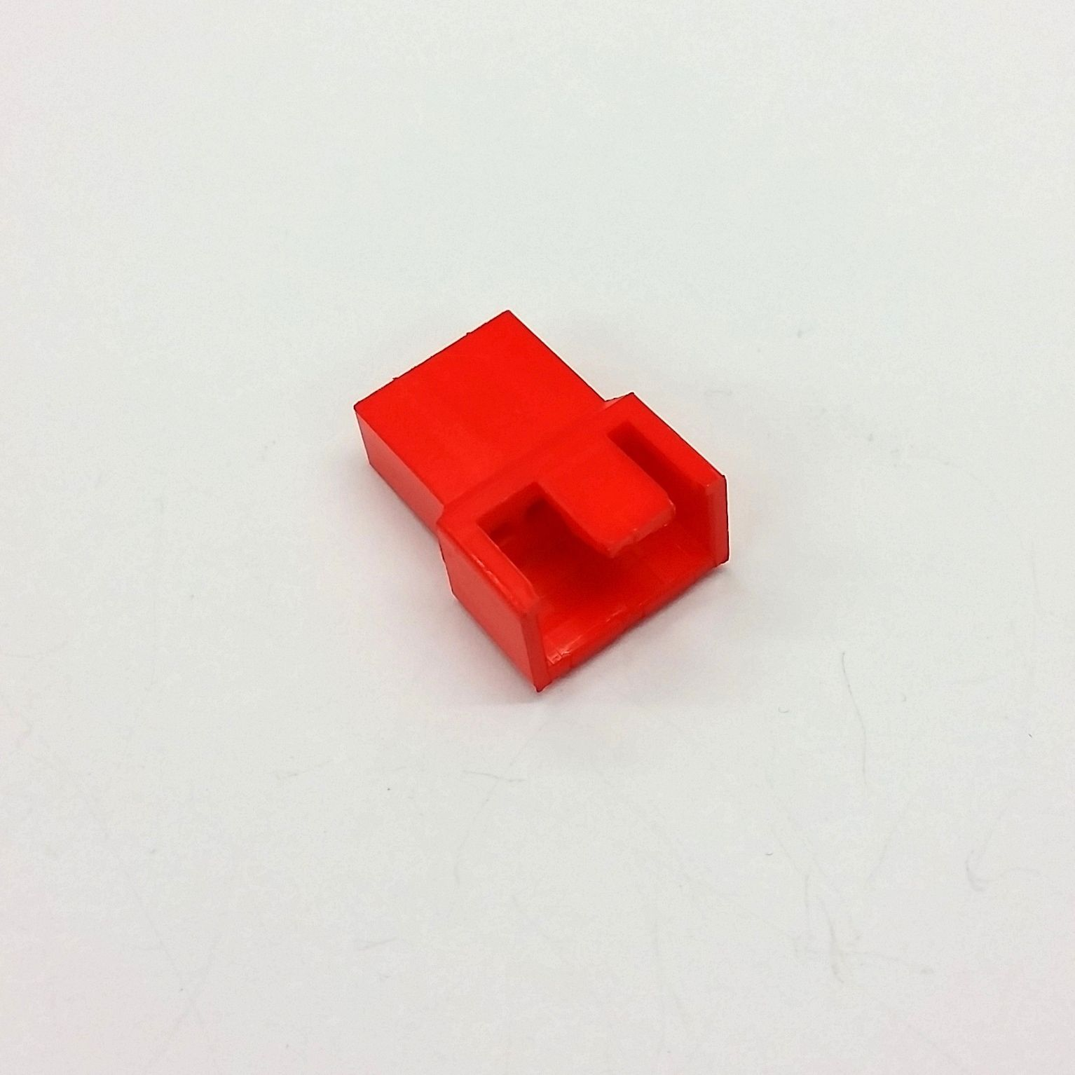 PX of 10 - Stecker 4 Pin Lüfter Strom Verbinder - Rot Farbe Tinte inklusive Pins