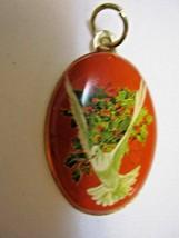 Vintage Enamel Pendant - $34.00