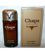Vintage Chaps After Shave 1Oz Bottle Men's Fragrance Ralph Lauren Cosmai... - $33.94