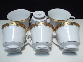 6 Noritake Legacy Gold Cups - $14.95