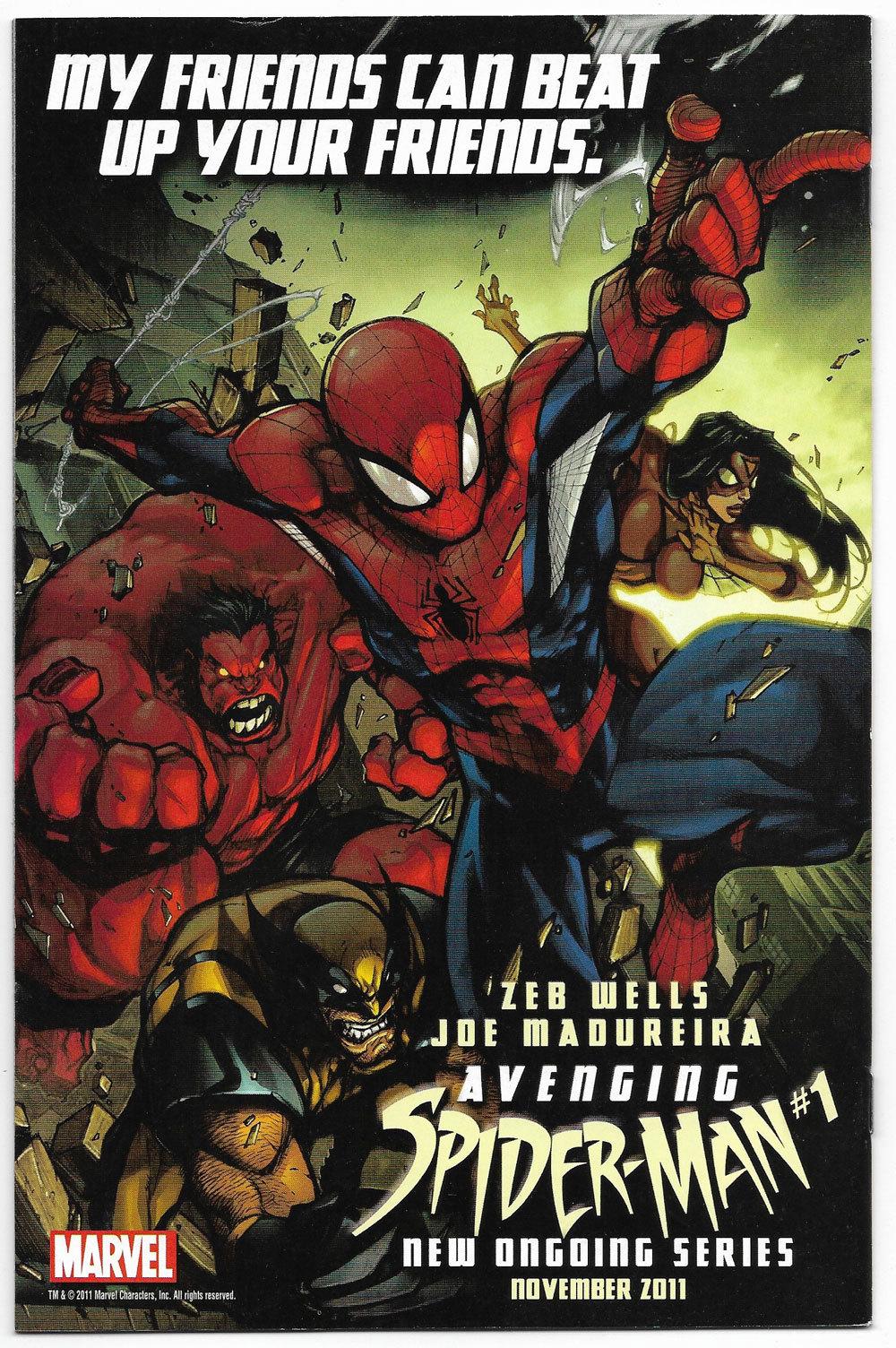 Incredible Hulk #1 Vol 4 2011 Marvel Comics (NM-)
