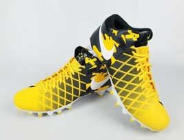 Nike Field General Pro TD Black Yellow Football Cleats 833386-710 Stars ... - $65.32