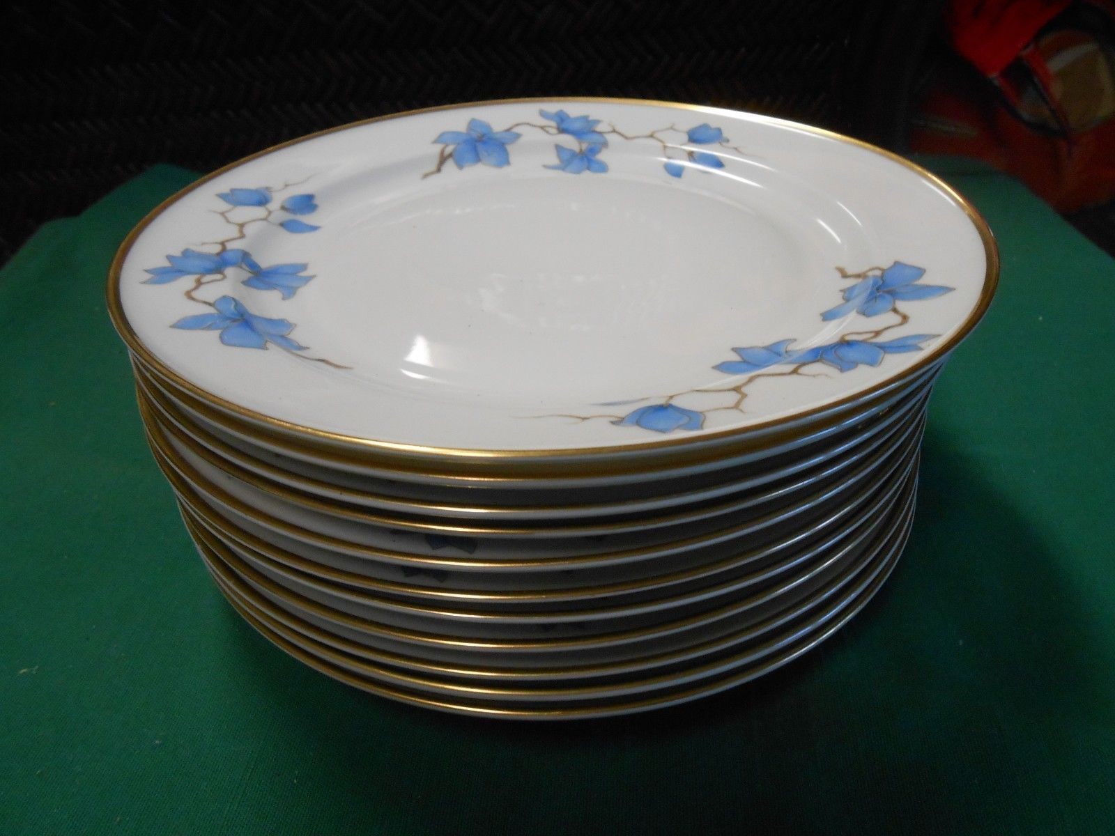 "Primary image for Beautiful RARE Vintage ROSENTHAL Selb Germany U.S.Zone ""Helena"" 11 BREAD Plates"