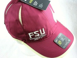 Nike Dri-Fit Featherlight Mens FSU Florida State Seminoles Big Swoosh Ha... - $18.76