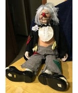 J.D. Rockifella Porcelain Doll 19 Inches - $14.01