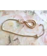 Vintage Teardrop Pendant Necklace, Clear Crysta... - $10.00