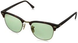 Ray Ban Clubmaster RB3016 114505 Matte Havana/Gold w/Green Polarized 49mm - $200.86
