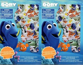 Disney Pixar Finding Dory - Includes Puffy Stickers 4 Sheet Sticker Book Set of  - $12.86