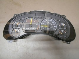 99 S10 S15 4.3L US A.T With Tach Column Shift Gauge Speedometer Cluster - $39.99