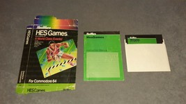 Commodore 64: HES Games - 6 World Class Events [w/ Box & Manual] - $12.00
