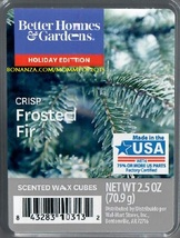 Crisp Frosted Fir Better Homes and Gardens Scented Wax Cubes Tarts Melts - $3.50