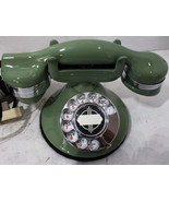 Automatic Electric Round Base Model #40 Circa 1929 Telephone (Mint Green) - $795.00