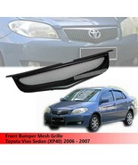 Front Bumper Grille Grill For Toyota Vios Sedan (XP40) 2006 2007 - $99.73