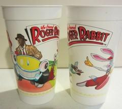 Who Framed Roger Rabbit McDonald's  Plastic Cup  1988 - $19.00