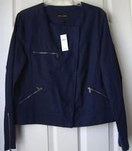 New Banana Republic Women's Asymmetrical Zip Linen Bomber Jacket Variety... - $59.99