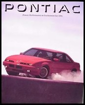 1991 Pontiac Dlx Color Brochure- Firebird, Trans Am - $9.71