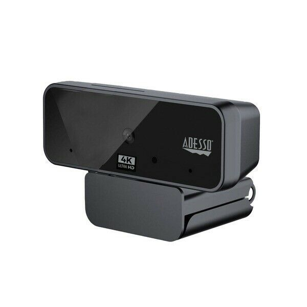 Primary image for Adesso CyberTrack H6 4K Ultra HD USB Webcam with Built-In Dual Microphone and P
