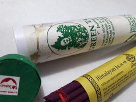Green Tara Himalayan Diety Large Tibetan Incense Sticks - $7.43