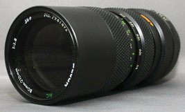 DEJUR MC 80-210mm F3.8 MACRO Minolta MD Mount SLR Film Camera Lens +Case... - $37.80