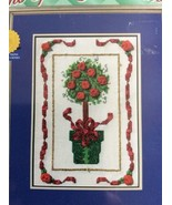 Janlynn Christmas Topiary Tree Counted Cross Stitch Kit True Colors 157-... - $7.58
